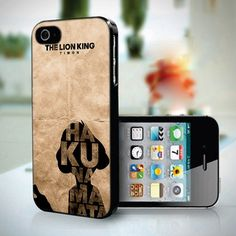 10325 Hakuna Matata - iPhone 5 Case | toko6 - Accessories on ArtFire