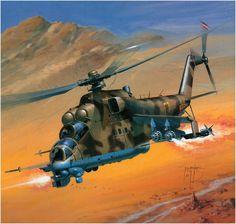 Mil Mi-24D Hind.