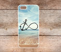 Infinity Anchor iPhone 5 Case Refuse to Sink Blue by LiliSupply