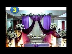 dekorasi pernikahan gedung model minimalis