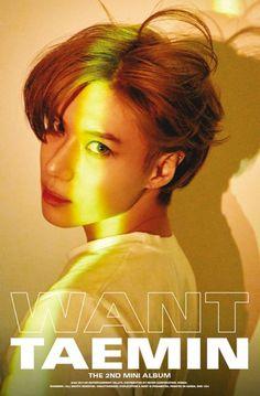 Taemin 'Want' mini album Minho, Onew Jonghyun, Lee Taemin, K Pop, Press Your Number, Chaeyoung Twice, Latest Albums, Hyungwon, K Idols