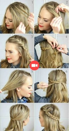 Easy Hairstyles For Shoulder Length Hair Ideas Easy Hairstyles For Shoulder Length Hair. Here is Easy Hairstyles For Shoulder Length Hair Ideas for you. Easy Hairstyles For Shoulder Length Hair 37 ways Cute Everyday Hairstyles, Easy Summer Hairstyles, Cute Simple Hairstyles, Daily Hairstyles, Easy Hairstyles For Medium Hair, Fast Hairstyles, Straight Hairstyles, Braided Hairstyles, Trendy Hairstyles