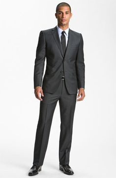 0e945840f Free shipping and returns on Z Zegna Trim Fit Wool Suit at Nordstrom.com.