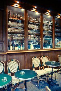 Paris Photography -Table for two Paris Cafe - 8x10 Fine Art Photograph - European Photo - Paris Decor. $30.00, via Etsy.
