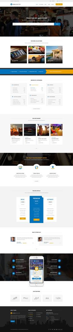 Wisem Directory is a Modern and clean Directory PSD #Template. It is best for creating a #directory, #coupons, #listings or #Classified-ads portal. It comes with 12 #PSD files which are fully customizable, well organized and easy to edit.