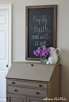 Kingsport Gray desk and Revere Pewter walls