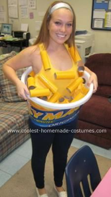 coolest homemade easy mac costume