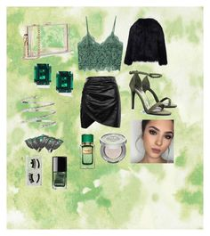 """""""Friday Night Out"""" by evanindya-puspa on Polyvore featuring MANGO, Boohoo, Diva Style Squad, WithChic, Venus, CARAT* London, SUGARFIX by BaubleBar, Urban Decay, Dolce&Gabbana and Chanel"""