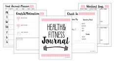 Free Fitness Journal Planner Printable Gift - Tap the pin if you love super heroes too! Cause guess what? you will LOVE these super hero fitness shirts! Fitness Journal, Fitness Planner, Exercise Planner, Workout Planner, Diet Planner, Workout Calendar, Gym Planner, Fitness Binder, Workout Journal