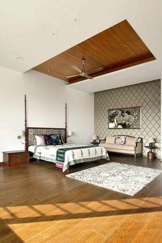 Ajay Patel Residence | Dipen Gada & Associates Indian Home Design, Indian Home Decor, Hall Interior Design, Room Interior, Kota Stone Flooring, Indian Homes, Aesthetic Room Decor, Dipen Gada, My Dream Home