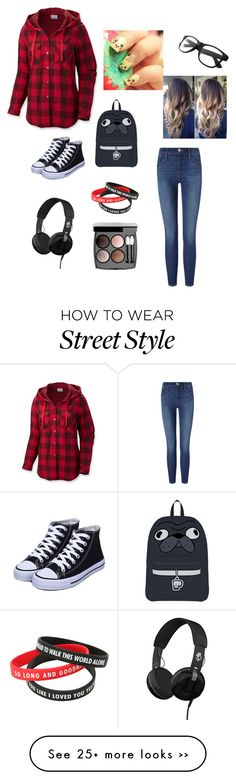 """Untitled #84"" by jasonwentz on Polyvore featuring Columbia, Frame Denim, Skullcandy and Chanel"