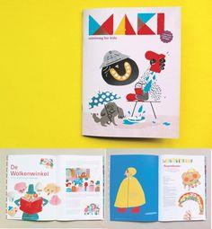 NEW!!! MAKI minimag is out now // Cover by Ola Niepsuj // ORDER via www.makiminimimag.bigcartel.com