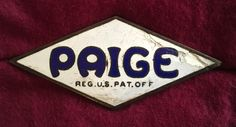 Paige-Detroiter cars began production in 1908. In 1927, the company was purchased by Graham Brothers to form the Graham-Paige auto company.  In 1947 all the industrial assets were sold to Kaiser.