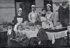 Old Glasgow photo of Royal Hospital for Sick Children, Glasgow - 1888 Welcome to Victorian Glasgow, take a step back in time and wonder down the lives and events of Glasgow's Victorian Era. History Of Nursing, Medical History, Vintage Nurse, Vintage Medical, Women In History, British History, Nurse Pics, Nurse Stuff, Steampunk Movies