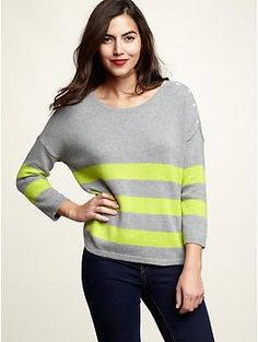 Almost bought this sweater today but didn't feel like carrying it around.  Must get soon though!
