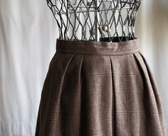 Evan Picone pleated skirt by AmericanThreadsShop on Etsy