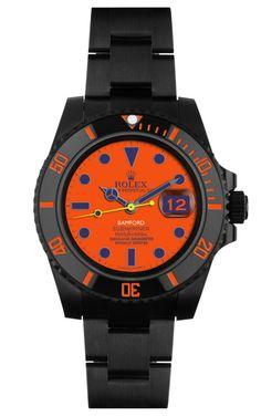 DREAM WATCH! Bamford Watch Department Peter Davis Customized Submariner Watch