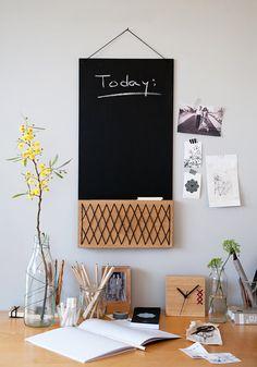 Multi Purpose Board Chlkboard Photo Board by StudioConnections