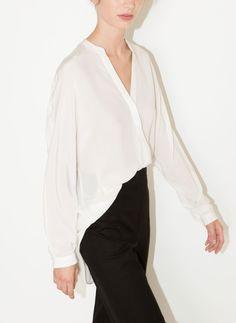 Blusa seda - Nuevo en tienda - Uterqüe España