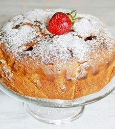 Najprostsze ciasto z owocami Gourmet Cooking, Cooking Recipes, Sweets Cake, Fruit Cakes, Apple Cake Recipes, Polish Recipes, Cake Cookies, Food And Drink, Pudding