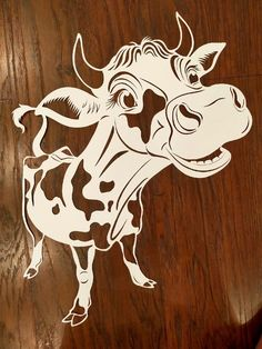 Christmas Doodles, Christmas Crafts, Mouse Crafts, Cow Pattern, Stencil Patterns, Wooden Wall Art, Pop Up Cards, Scroll Saw, Kirigami