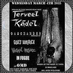 Terveet Kadet show coming up!!