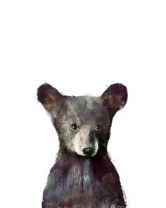 'Little Bear' by Amy Hamilton - prints available!