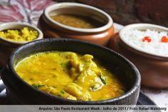 Consulado da Bahia (jantar)    Moqueca de pescada Amarela  Acompanha arroz branco, pirão de peixe e farofa amarela