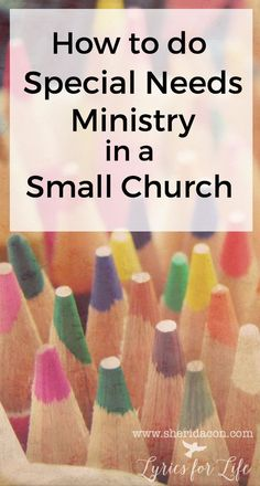It's not impossible. It might even be easier than you think. But most of all, it is so important to your church families. How to do special needs ministry in a small church Church Ministry, Youth Ministry, Ministry Ideas, Children Ministry, Youth Rooms, Kids Church, Church Ideas, Church Office, Church Outreach