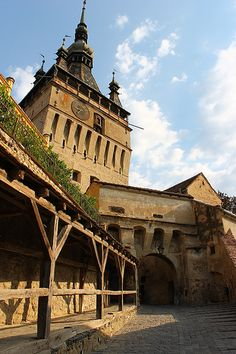 Sighisoara, #Romania  Sighisoara is one of the most beautiful medieval #cities in #Romania and one of the best preserved ones in Europe. This city holds an amazing annual medieval festival during the summer. http://www.romaniandentaltourism.com/why-visit-sighisoara