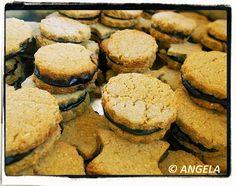 Kruche ciasteczka jęczmienne - Barley Tea Cakes - Biscotti all'orzo