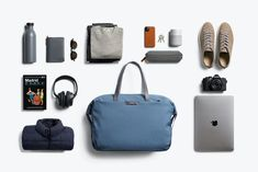 Weekender | Versatile Casual Travel Carry-on Bag | Bellroy  #bellroy #travelideas #travelaccessories #travelessentials #travelpacking Carry On Size, Carry On Bag, New Technology Gadgets, Travel Umbrella, Mens Fashion Wear, What In My Bag, Travel Items, Travel Bags, Aging Gracefully