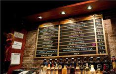 beer menu chalkboard