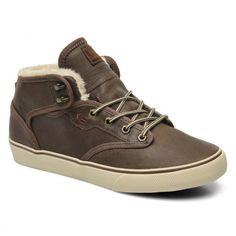 GLOBE Motley Mid toffee ash fur skate shoes fourrées semi-montantes 85,00 € #shoes #chaussure #skateshoes #globe #skate #skateboard #skateboarding #streetshop #skateshop @playskateshop