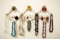Creative Jewelry Storage and Display Idea.