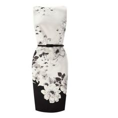White Sleeveless Backless Floral Bodycon Party Dress (175 BRL) ❤ liked on Polyvore featuring dresses, floral bodycon dress, white bodycon dress, backless cocktail dress, sleeveless dress and backless bodycon dress