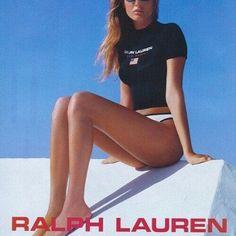 90s RALPH LAUREN SWIM AD