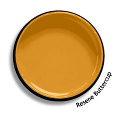Resene Buttercup is a bold yellow orange, like fields of nasturtiums. An undercoat is recommended for the optimum finish. View this and of other colours in Resene's online colour Swatch library