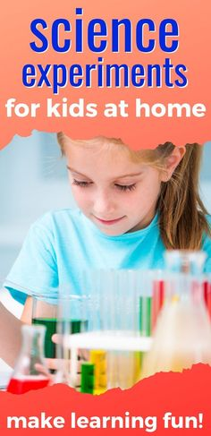 Love these fun science experiments for kids! Easy science activities for kids at home from toddler to tweens. Try some at-home science experiments with your kids. These are kid activities where everyone will learn and have fun! #scienceactivities #scienceexperiments #kidsactivities #kidactivities At Home Science Experiments, Science Activities For Kids, Outdoor Summer Activities, Summer Kids, Kids House, Kids Learning