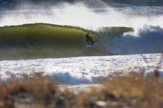 East Coast cold winter barrel.