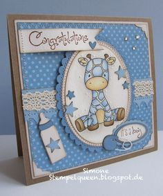 Simone—Baby boy card