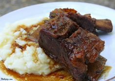 Root Beer Short Ribs: Several people I know have been seriously studying the French Laundry recipe for beef short ribs.  This one seems much easier.  (And I already have root beer in my kitchen...)