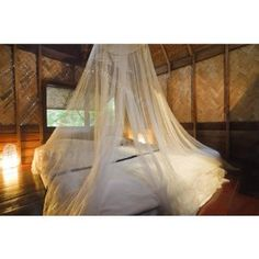 White Mosquito Net Bed Canopy. Full 12 Meter Coverage. Up to Kingsize. Non Skin Irritation. Free Travel Bag
