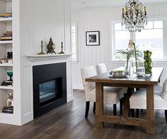 Wood floors are one of the most sought after surfaces in any home, thanks to their warmth and timeless appeal. When living with or decorating with wood floors, keep the following in mind./