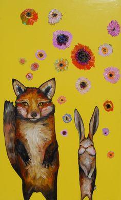 Fox and Rabbit Wedding Day by Eli Halpin