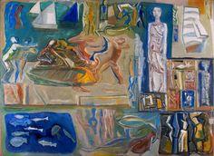 Mario Sironi, Great Composition. 1948.