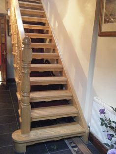 Ash open plan stairs