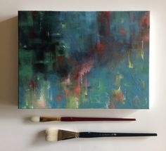 A personal favourite from my Etsy shop https://www.etsy.com/listing/471487568/magic-hour-acrylic-abstract-painting-on