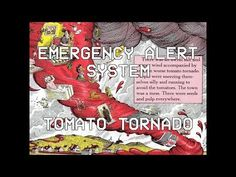 EAS PARODY: THE TOMATO TORNADO (CLOUDLY WITH A CHANCE OF MEATBALLS) - YouTube Tornado Warning, National Weather Service, Weather Forecast, Making Out, Youtube, Weather Predictions, Youtubers, Youtube Movies