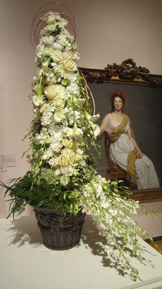 Portrait of Madame de Servan (unknown artist); interpreted by Heather Sullivan, AIFD, CFD, Durocher Florist